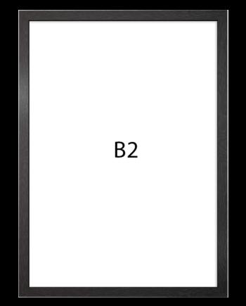 Basic fotolijst hout B2 zwart