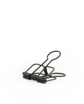 poster clips binders zwart metal metaal look