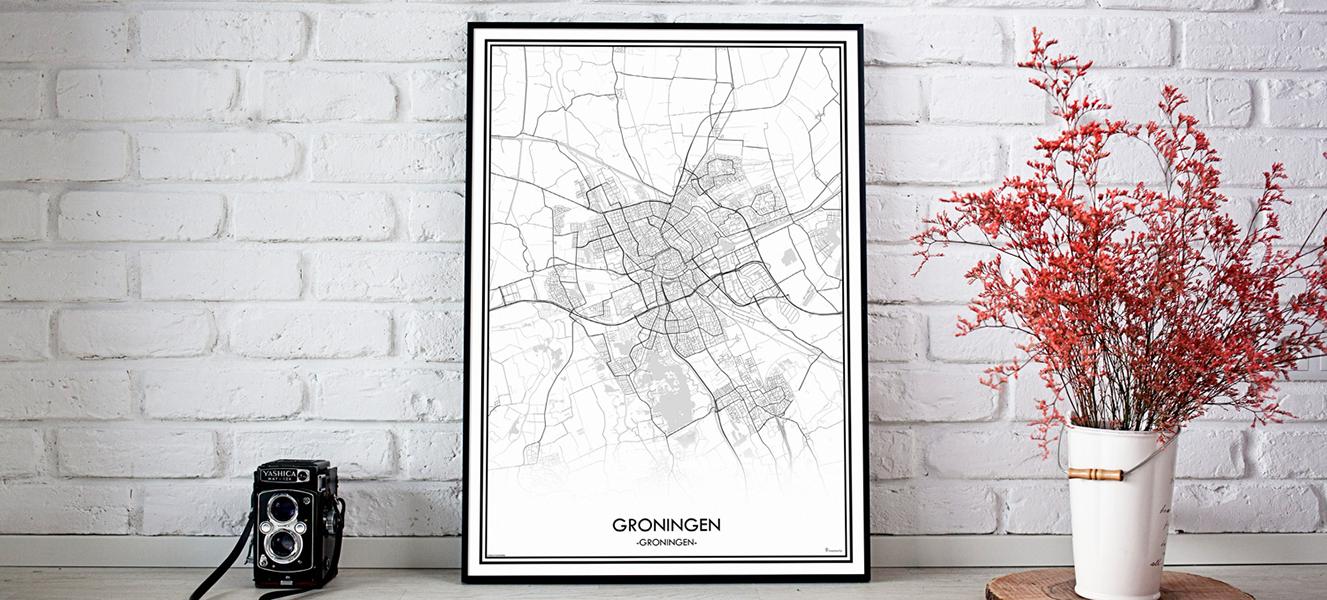 groningen poster mapmycity